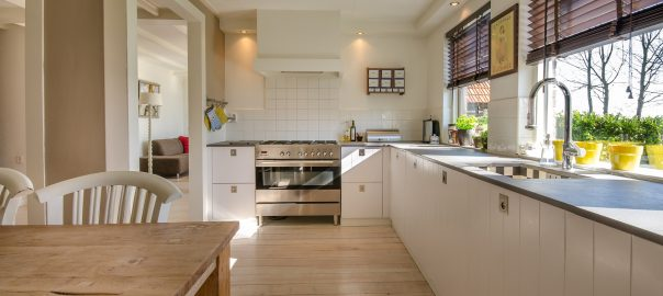 Practical solutions for kitchen cabinets